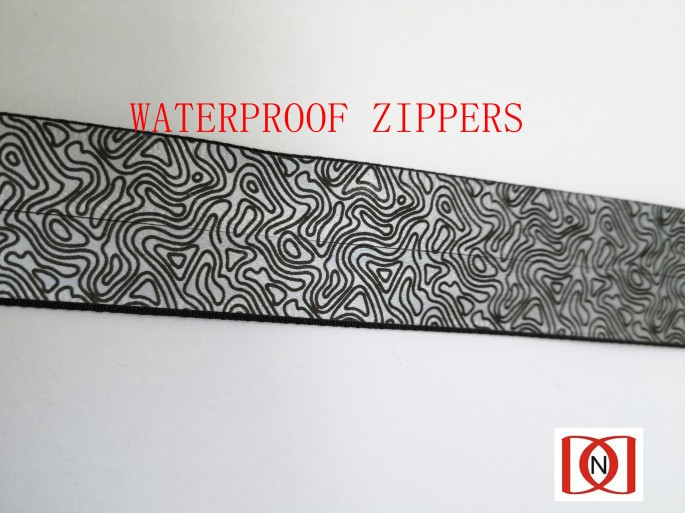 NO.5 Waterproof shiny coated18